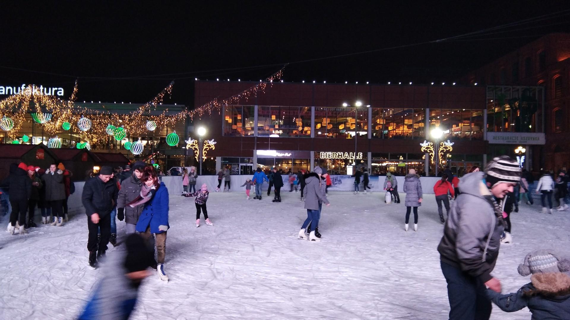 Mi primera vez patinando sobre hielo