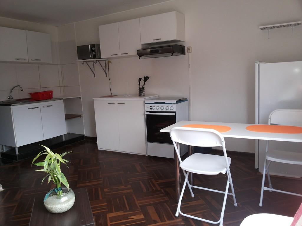 Minidepartamentos amoblados y equipados estad as for Alquiler de cuartos o minidepartamentos