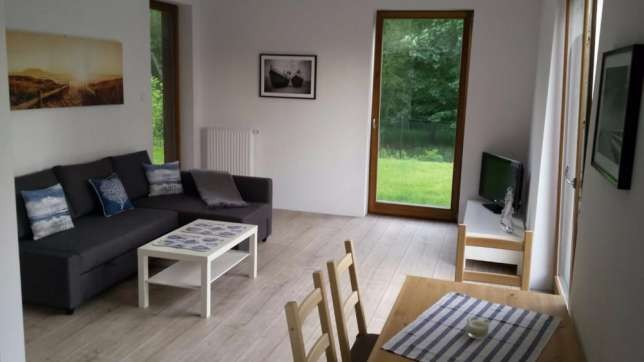 Modern 1 bedroom apartment with garden in great location | Flat rent ...