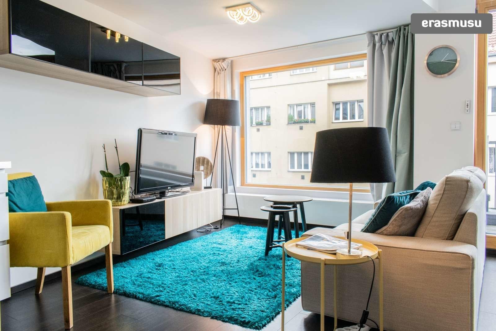 Modern Studio Apartment With Balcony For Rent In Prague 8 Rent Studios Prague