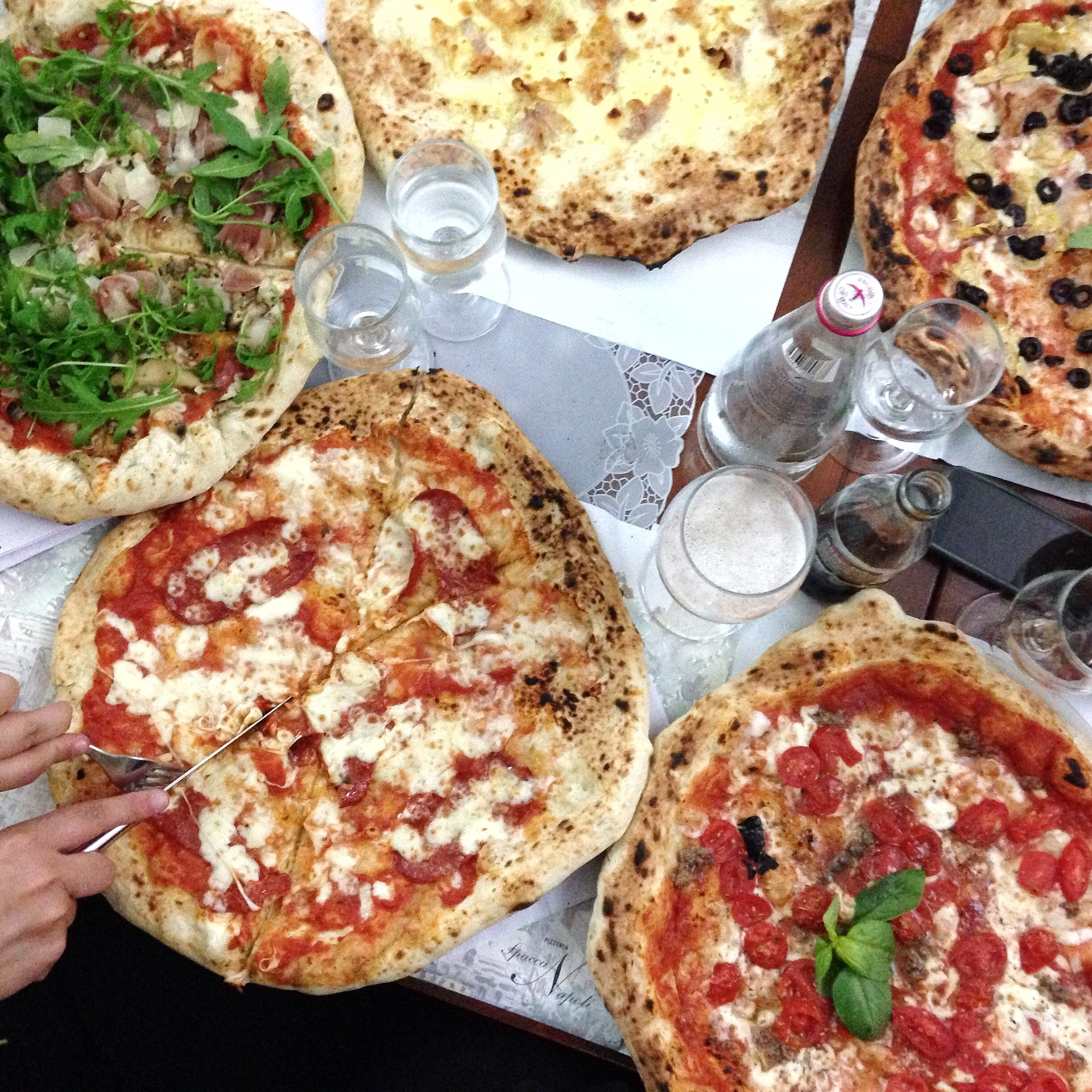 Moja ulubiona pizzeria w Neapolu