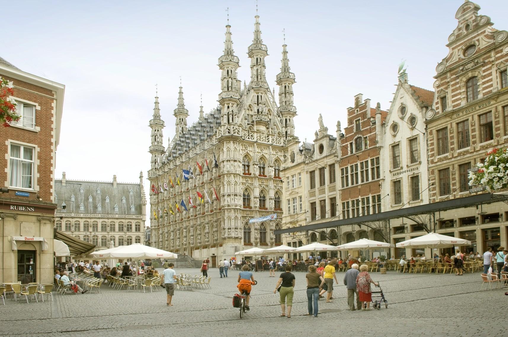 Mon expérience Erasmus à Louvain, Belgique par Fulvio