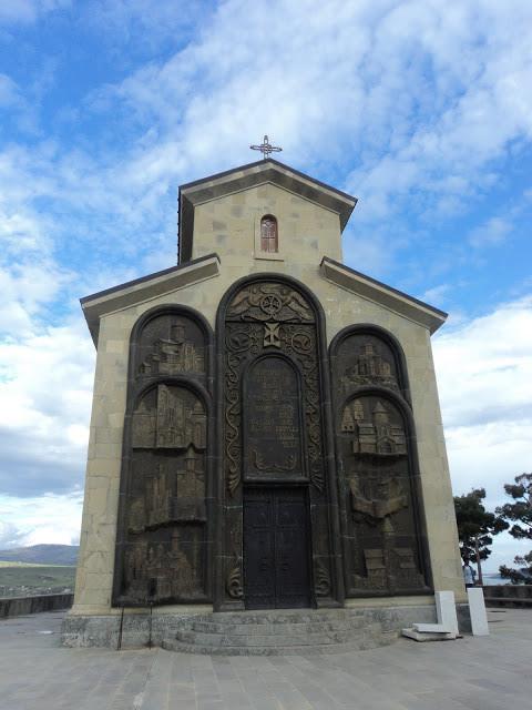Mon voyage à Tbilisis Temqa