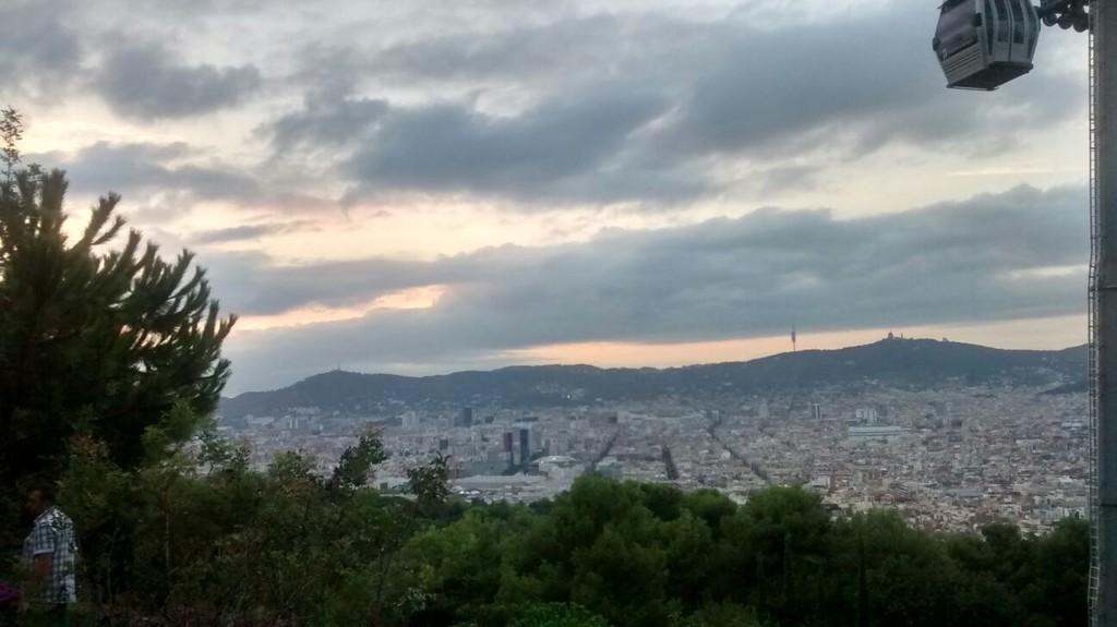 Montjuïc, o alto de Barcelona!