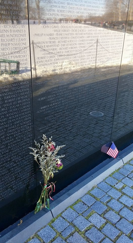 Monumento dedicado a los veteranos de la Guerra de Vietnam