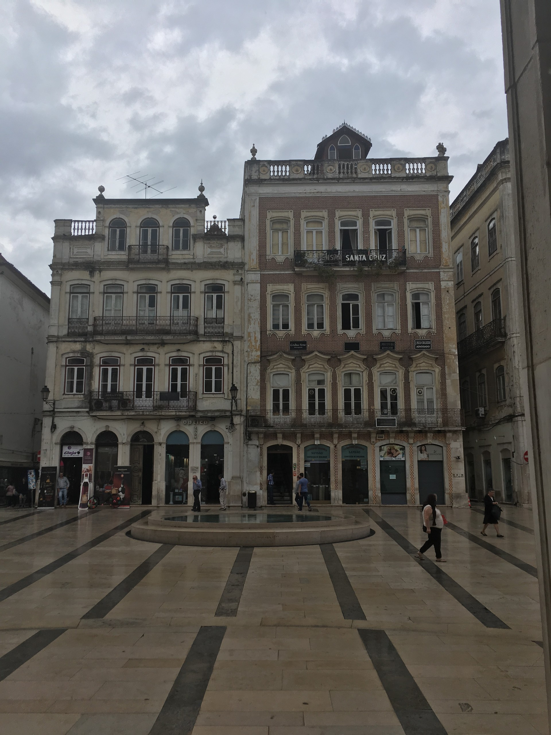 Most beautiful square in Coimbra