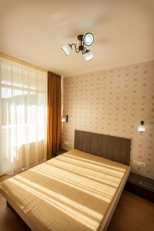Naturally Well-Lit apartment with personal bathroom, TV, fridge,