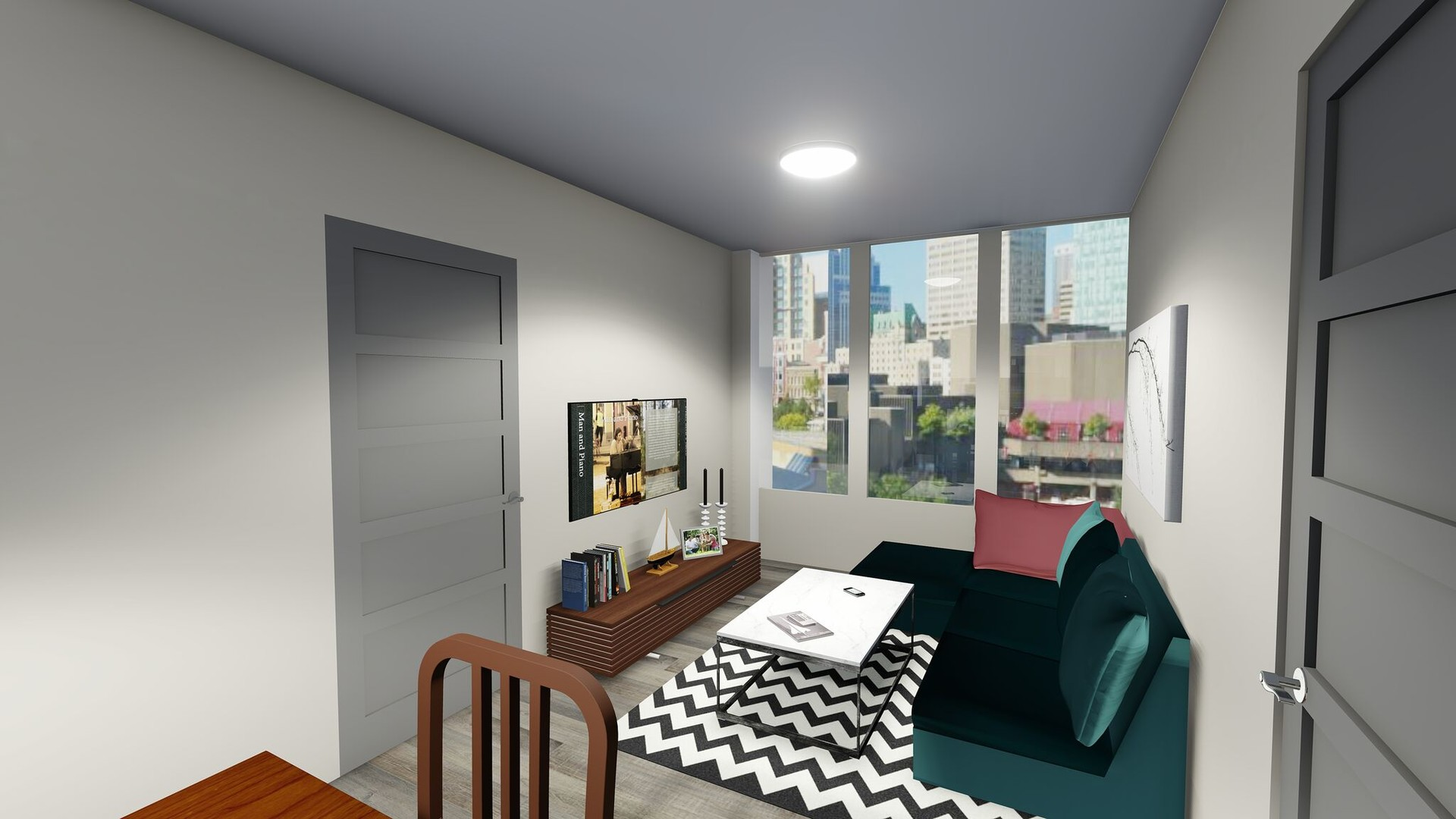 New student apartment in Ottawa - THEO residence | Room ...