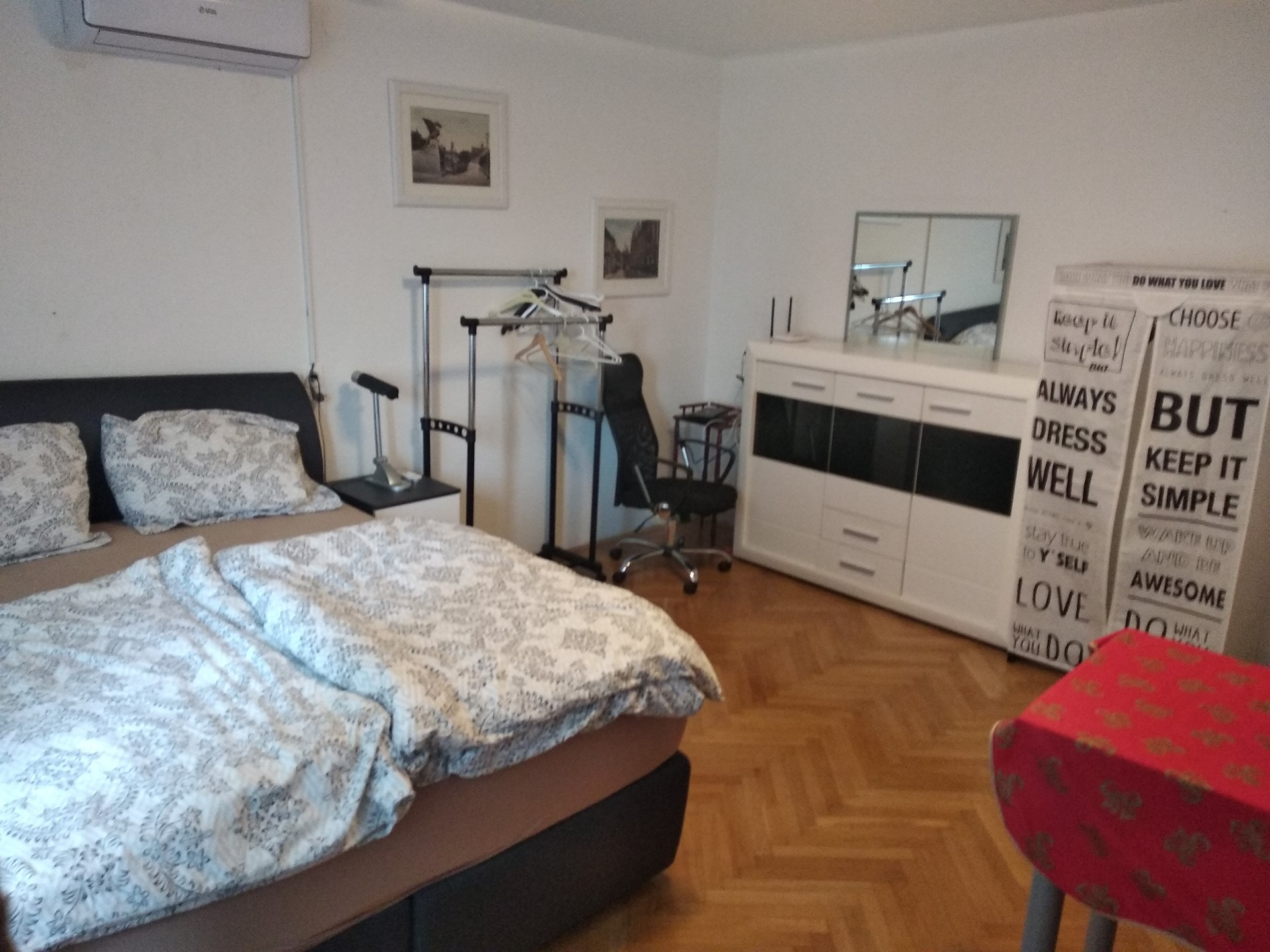 Nice new double room for 2 person as a part of 2 bedrooms Erasmu