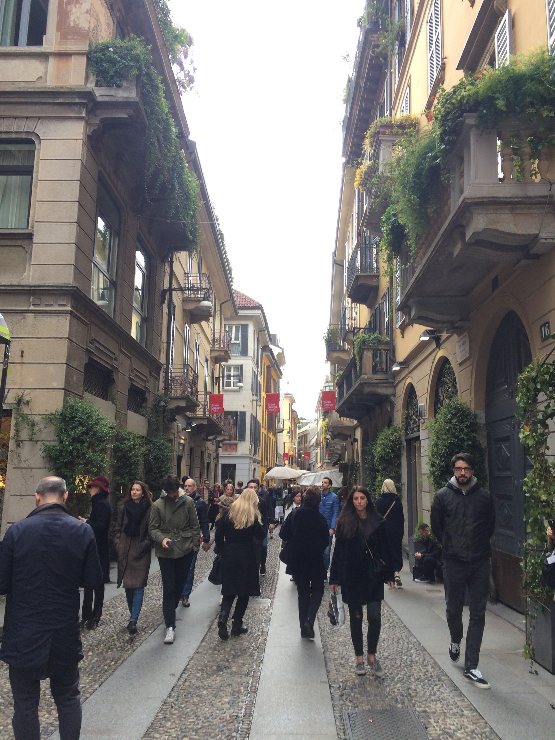 O desing em Milão