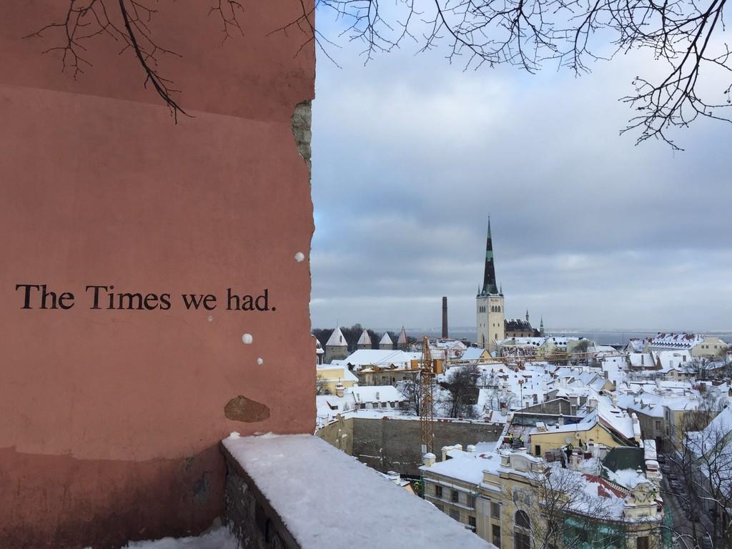 O lugar donde encontras a frase que vai definir o teu Erasmus em tallinn