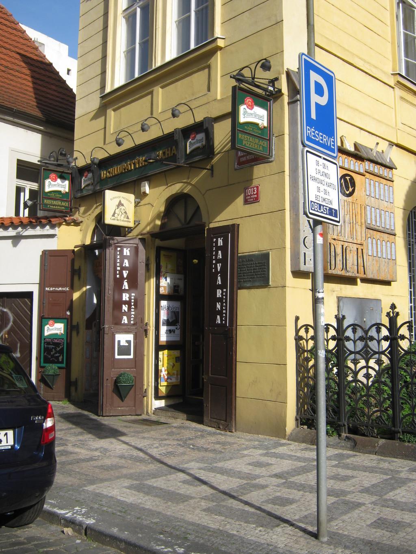 O teu futuro local favorito em Praga: U Chlupatýho Ducha
