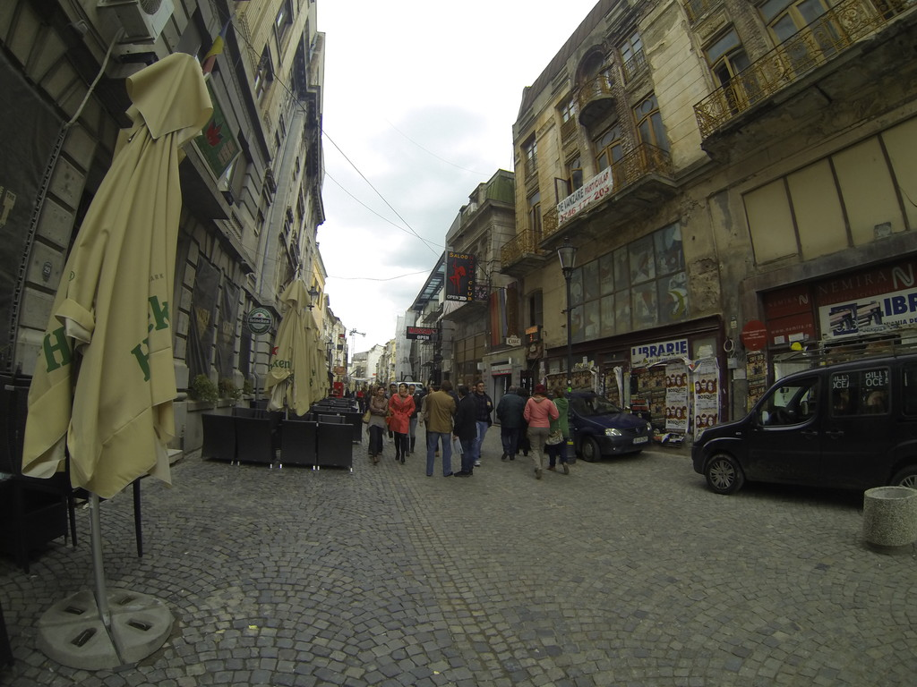 Old Town - Lipscani = drinking part of Bucharest
