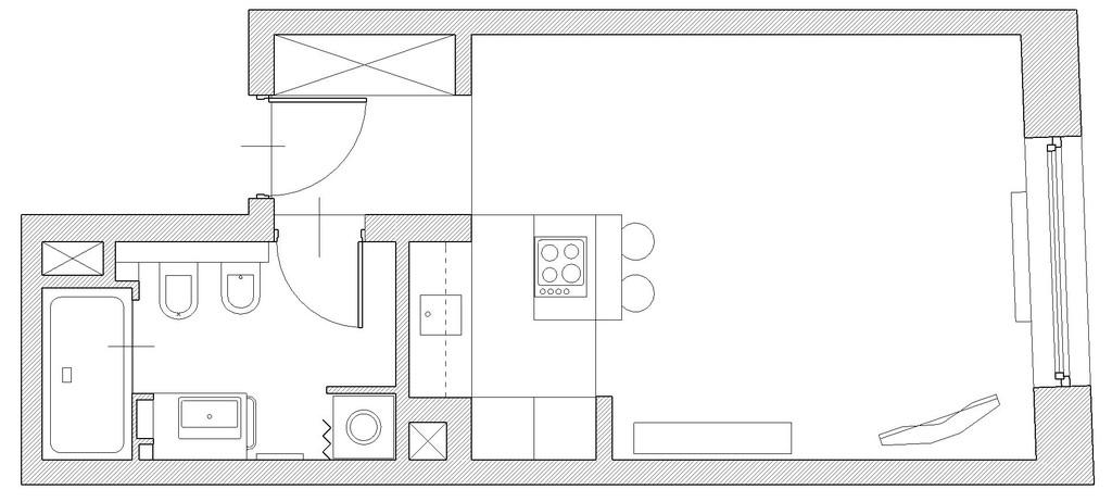 One bedroom studio apartment in high standard | Rent studios Krakow