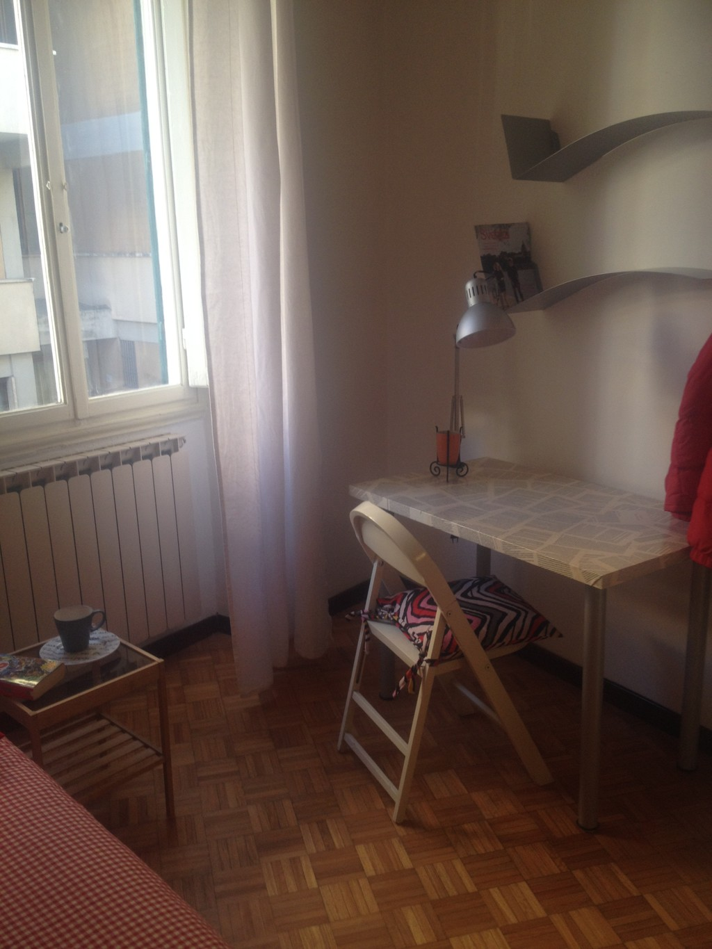 One bed in a double room in florence all included room - All in one double bed ...