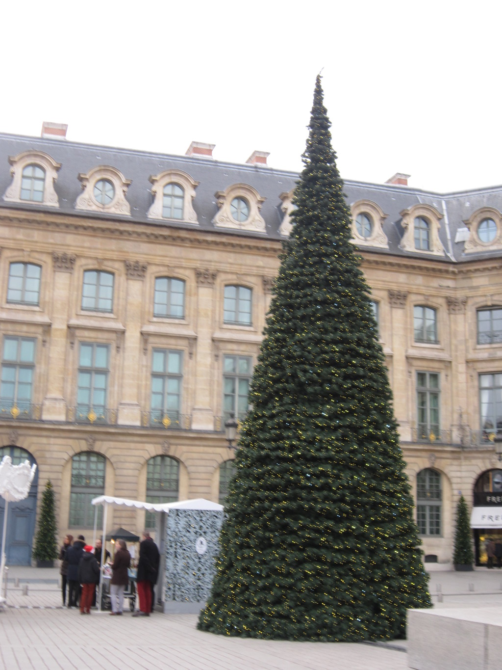One of the most luxurious squares in Paris