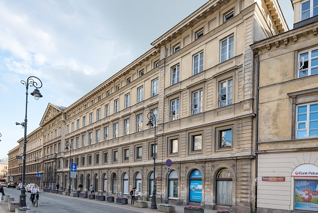 Pałac Zamoyskich w Warszawie