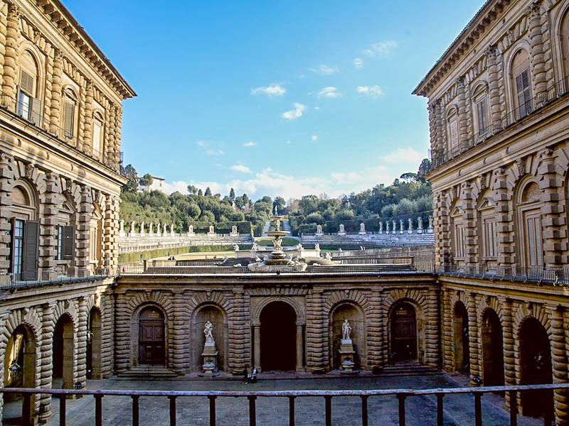 Palazzo pitti what to see in florence for Palazzo pitti