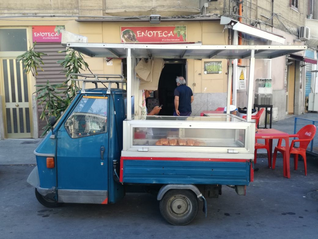 Palermo, capitale europea dello street food