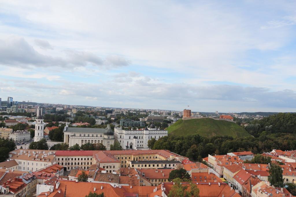 Panorama Starego Miasta w Wilnie