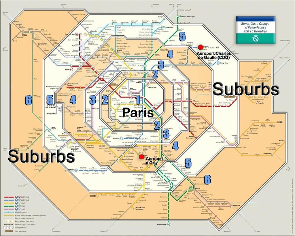 Cartina Metro Londra Zone