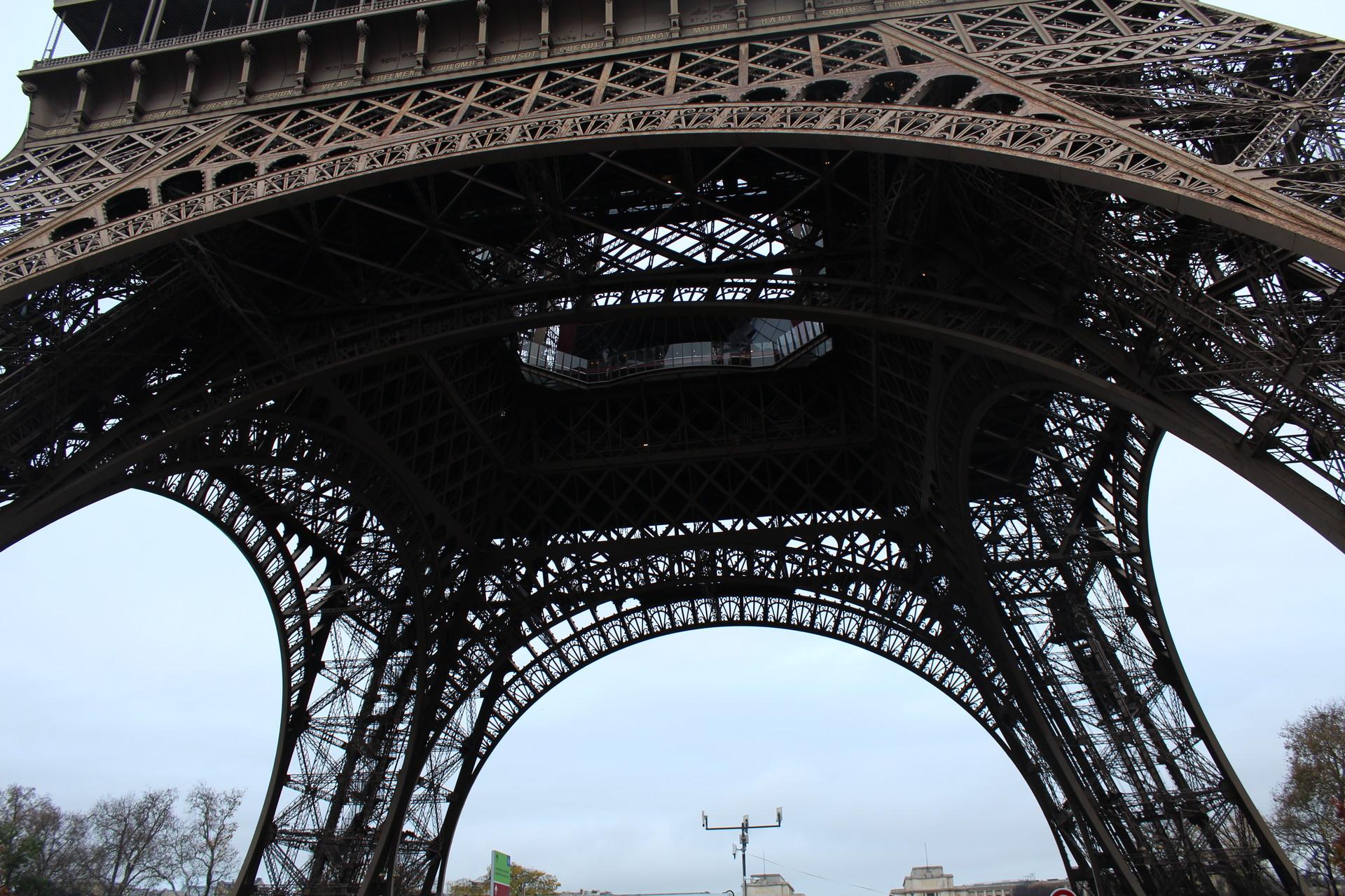 Park przed Wieżą Eiffela