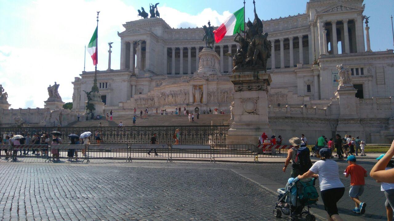 Paseo por Piazza Venezia