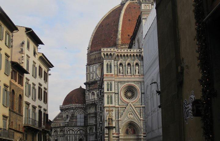 Pelas ruas de Florença
