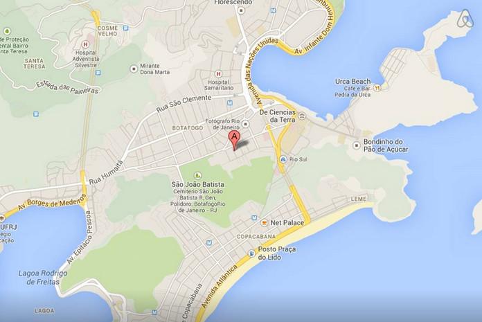 PENTHOUSE em Botafogo - ambiente global com terraço