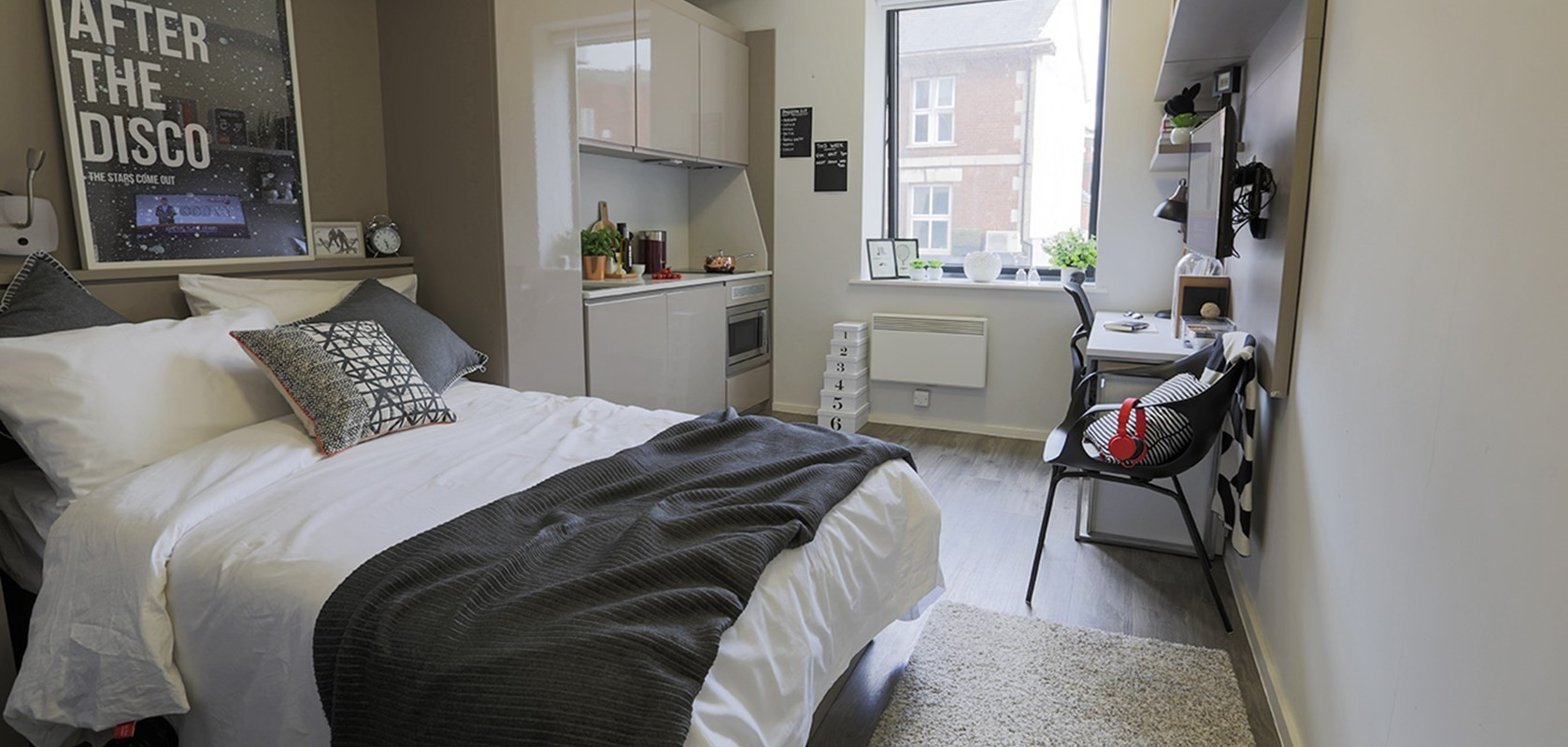 Perfect for erasmus student individual or couples to for Studio apartment ideas for couples
