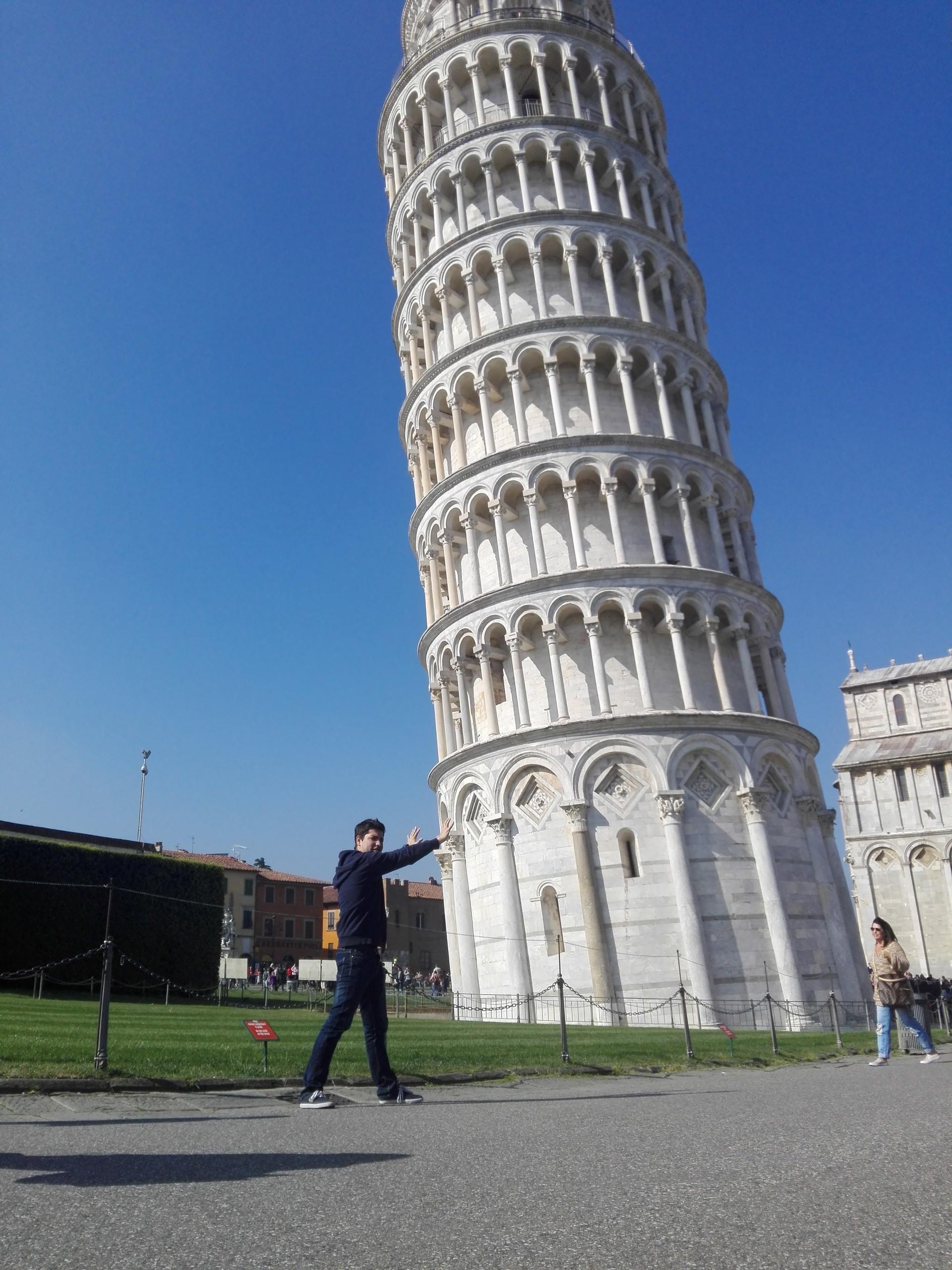 Pisa, una ciudad pequeña pero magica.