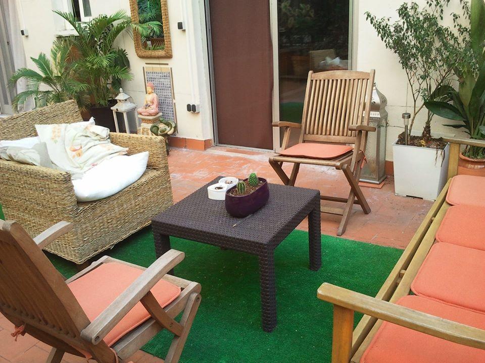 Piso muy bonito gran terraza tropical c sagunto for Alquiler piso terraza valencia