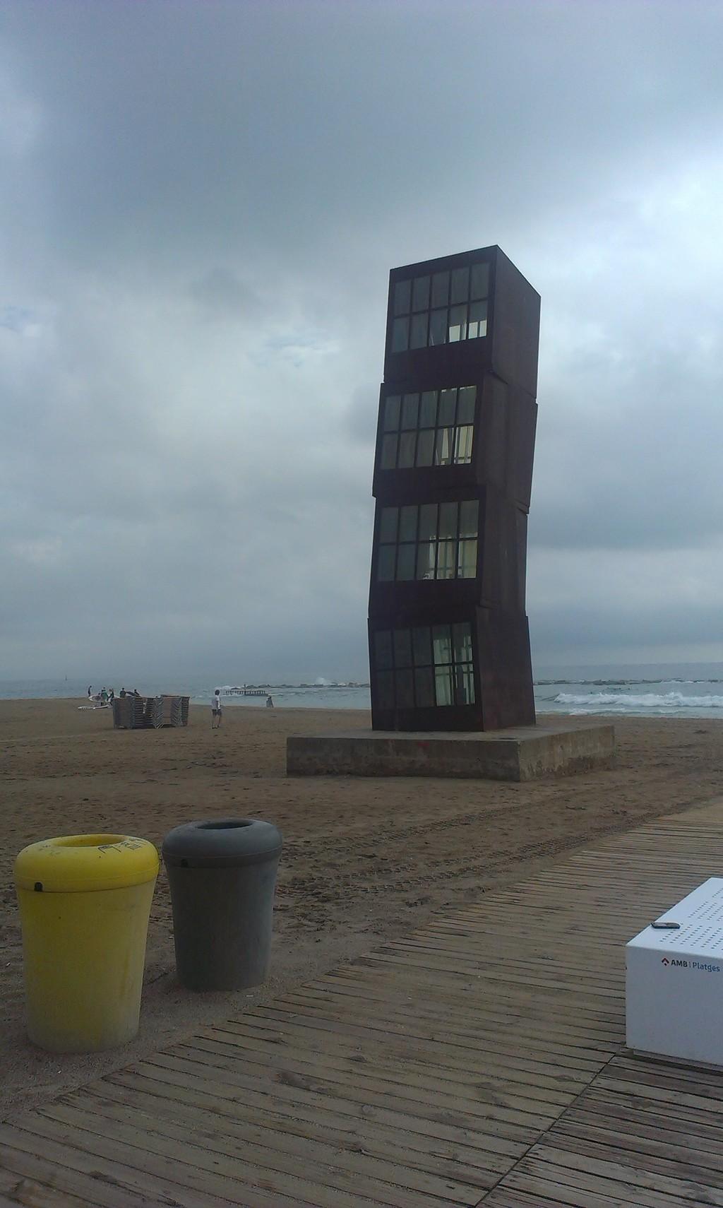 Playa famosa de Barcelona