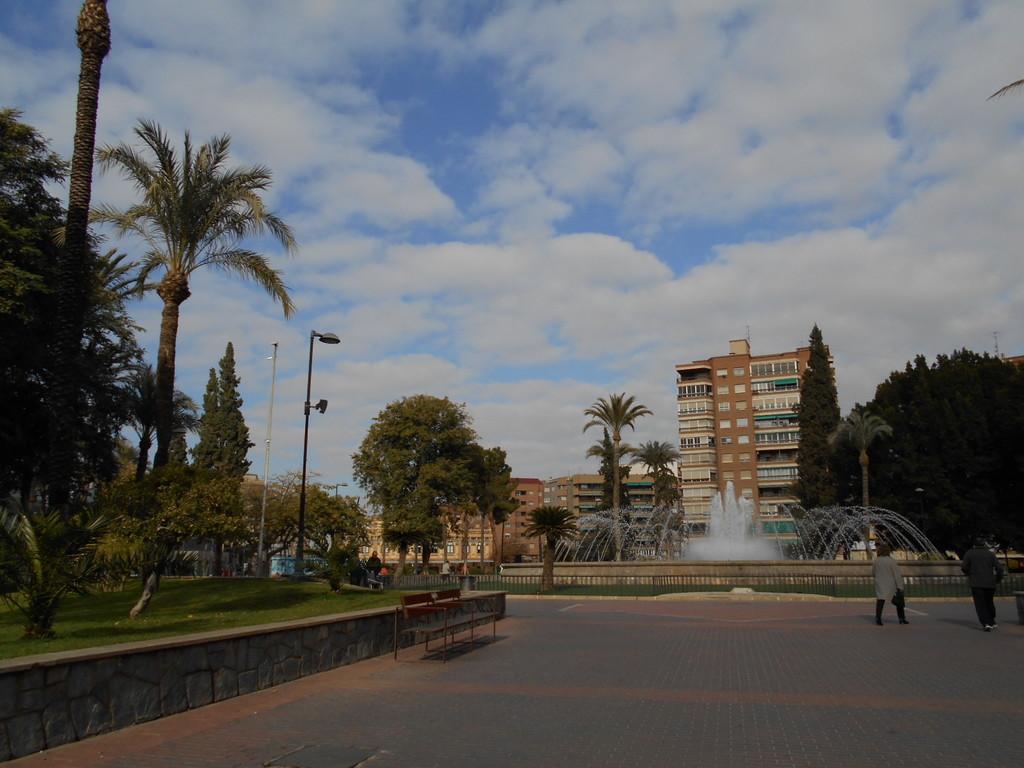 Plaza Circular in Murcia