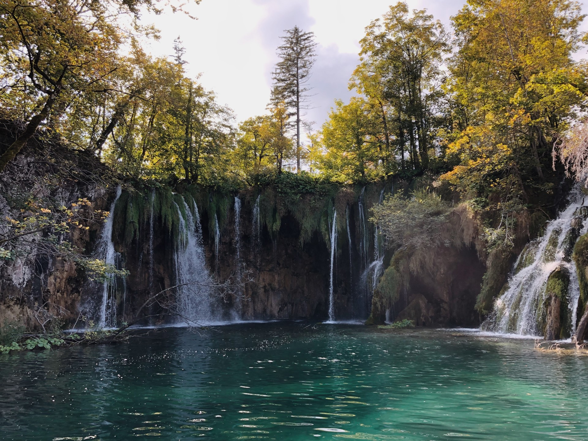Plitvice Lakes, Sjleme and... a fine?