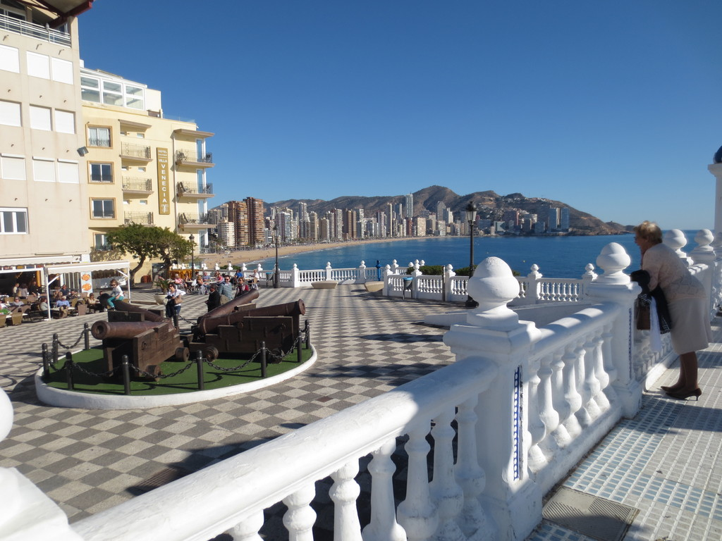 Poniente beach in Benidorm  What to see in Alicante