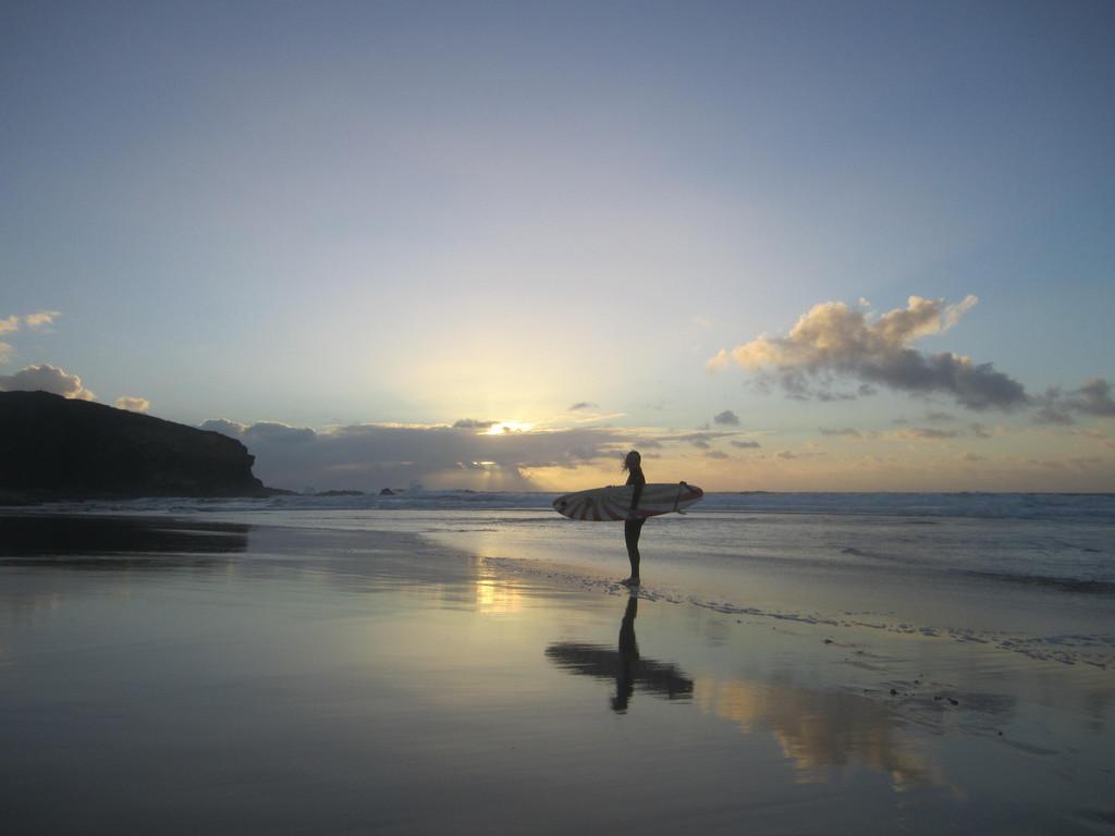 Popłyń na fali La Pared, Fuerteventura