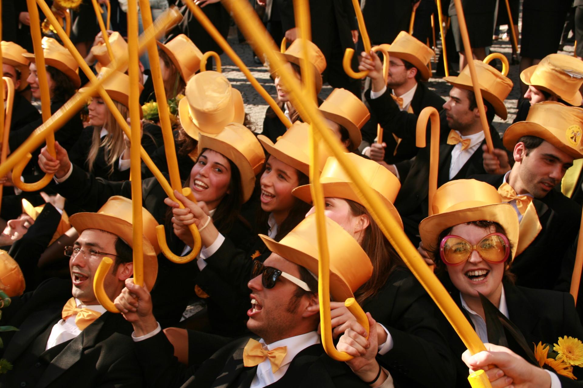 Praxe- Una tradición académica portuguesa