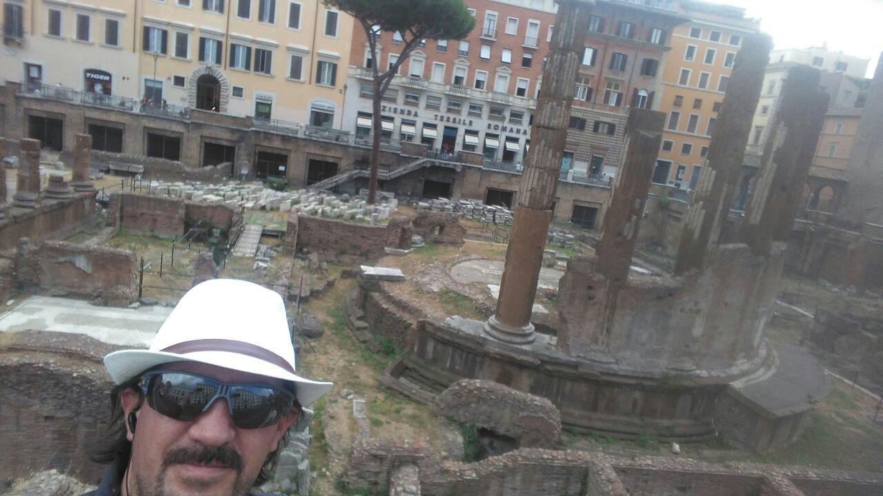 Primera impresión en Roma