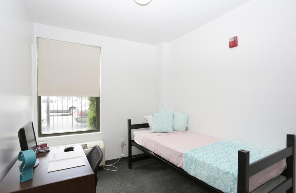 Zimmer Im Studentenwohnheim In New York Mit Internet Und Mit Aufzug Zu Vermieten