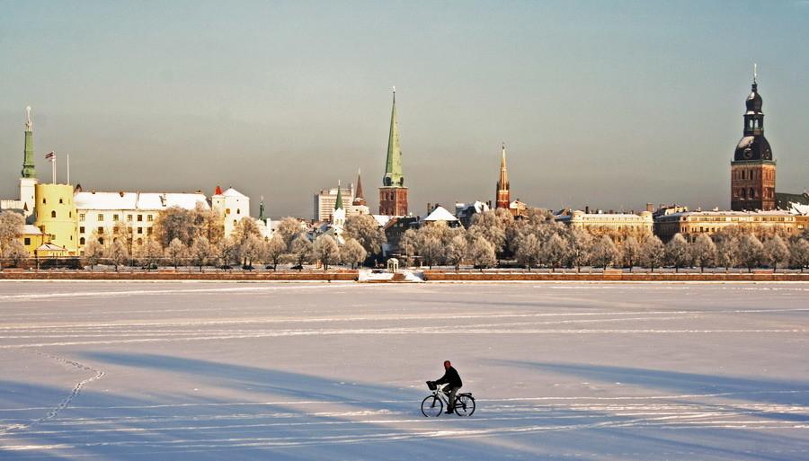 Przeżycia z Rygi, Łotwa według Laury