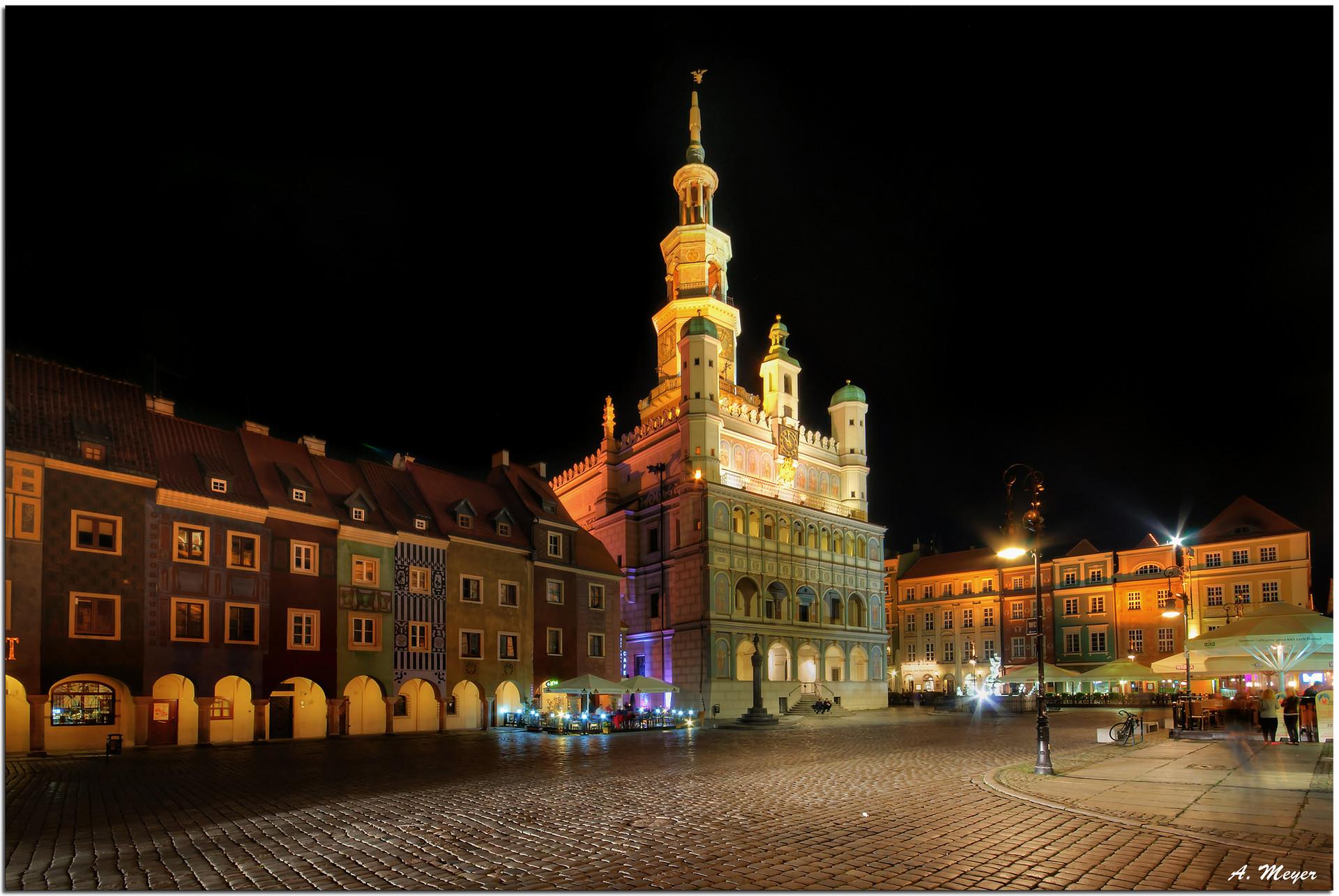 Przygoda w Poznaniu, Polska według Maksyma