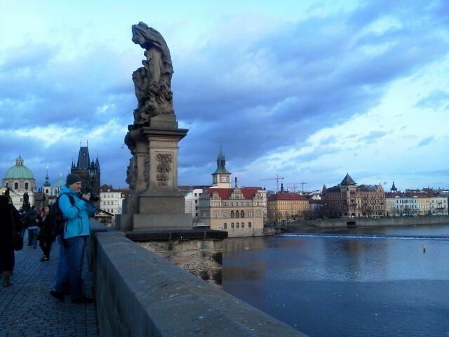 Puente Carlos Que Ver En Praga