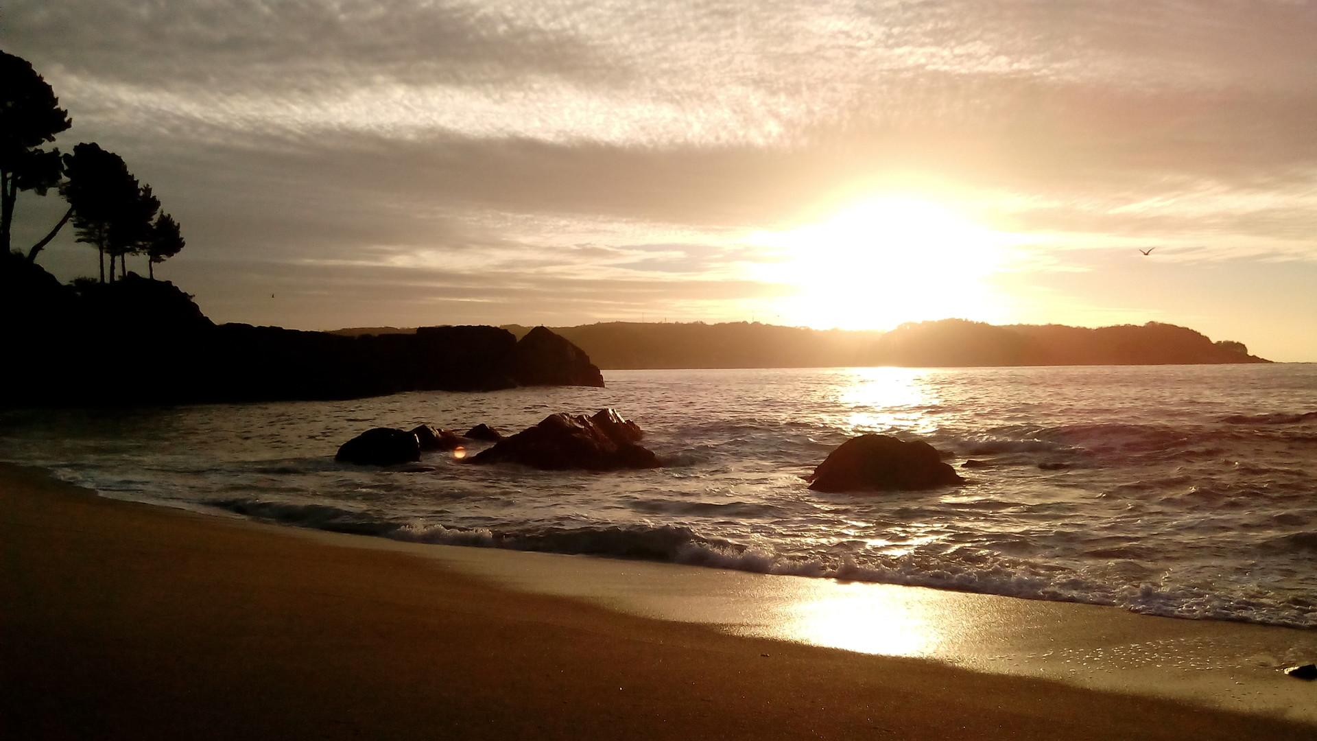 Puesta de Sol en Dichato