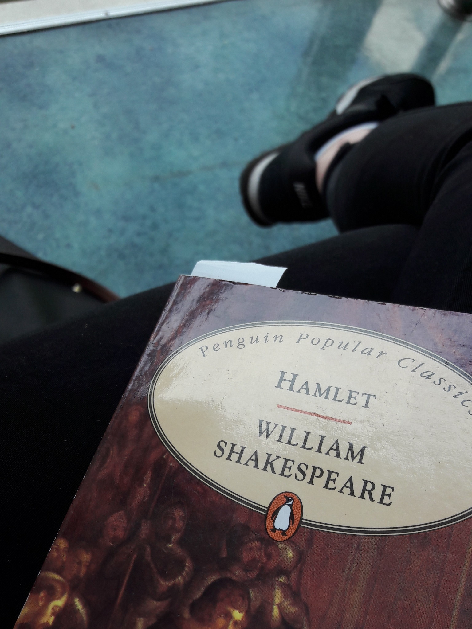 Reading Shakespeare in the cafeteria