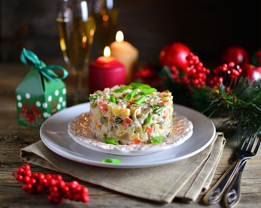 Recette roumaine simple: la salade de boeuf