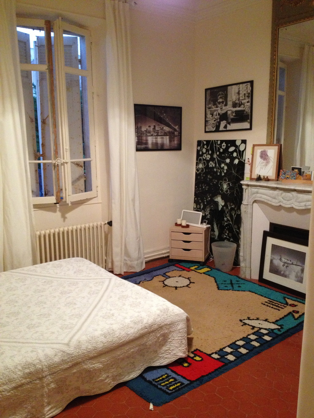 rent a room in a house near from the see in the heart of marseille