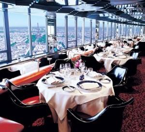 Restaurant avec vue