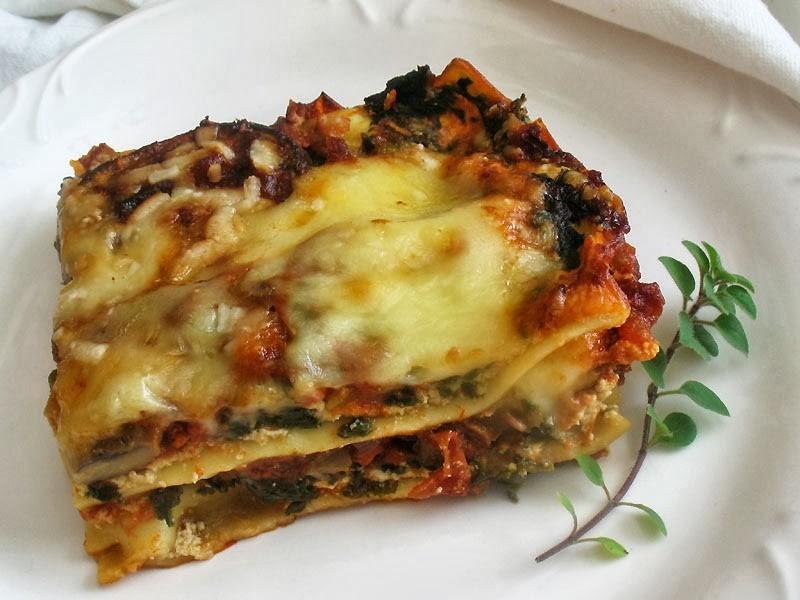 Ricetta della lasagna vegetariana