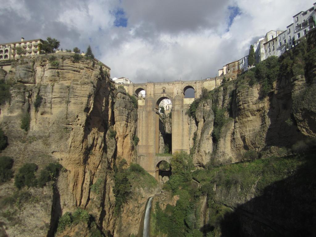 Romantic sights at the Puente Nuevo in Ronda